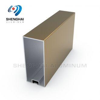 Aluminum Rectangular Shape Tube Profile for Baffle Ceiling