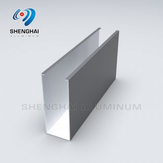 Aluminum Rectangular Shape Tube Profile for Curtain Ceiling