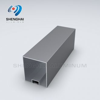 Aluminum Rectangular Shape tubing Profile for Baffle Ceiling