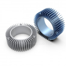 CNC Aluminum Profiles Heat Sink