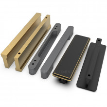 Aluminium Handles for Cabinets and Wardrobes