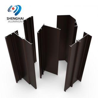Peru market aluminium extrusion sections for door