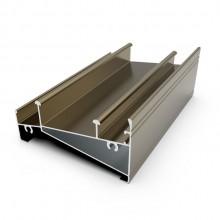 aluminum section door for Philippines market