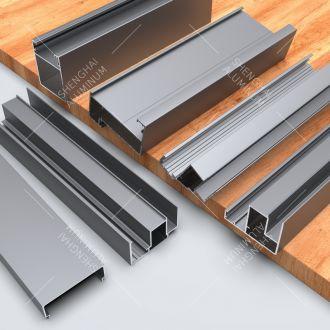 Shenghai kitchen cabinet aluminium profile