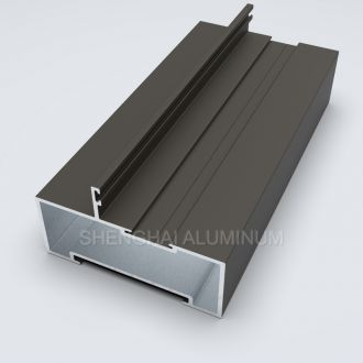 South Africa Style Aluminium Profiles for Shop Front Door