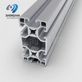 industrial extursion slotted aluminum profile
