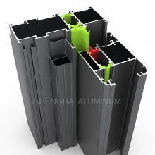 Thermal Break Aluminum Frames for Windows