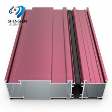 standard aluminum extrusion profiles for window