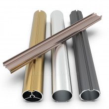 Fine Surface Aluminum Curtain Rails