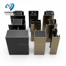 Shenghai custom aluminum extrusions for window and door