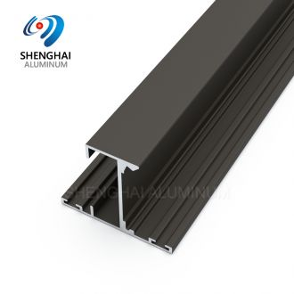 Shenghai glass partition with aluminium frame