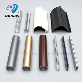 Shenghai Aluminium Curtain Track Rail Rod