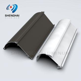 Anodized aluminium rail profile