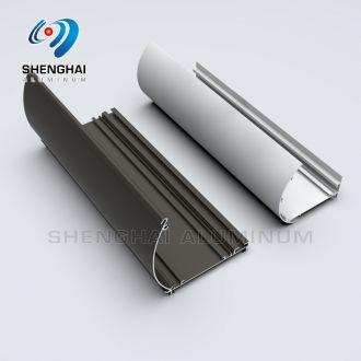 aluminum extrusion rails for curtain