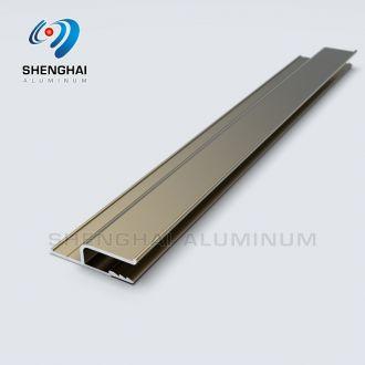 Anodized Aluminum trim transition strip