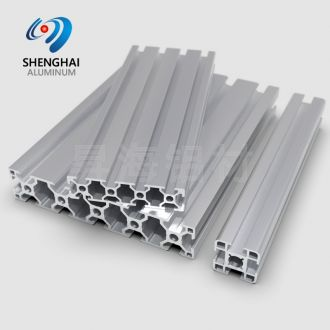 shenghai industrial aluminium T slotted V slot channel