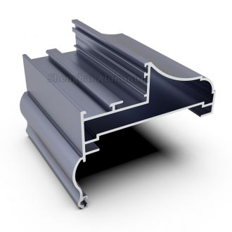 Shenghai aluminium frame section for window and door