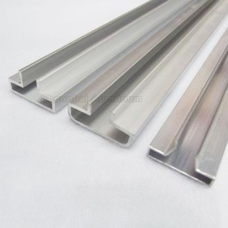 Easy Cleaning Anodizing Aluminum Profile For Slatwall