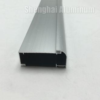 aluminium sliding wardrobe cabinet door profiles