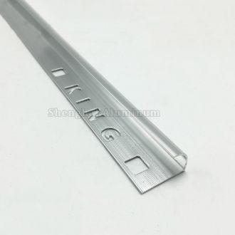 floor brushed aluminium tile trim