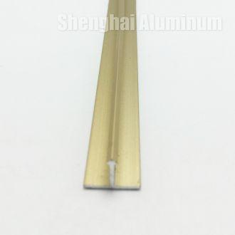 edge t shaped aluminium trim