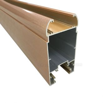 sliding door aluminium frame for shenghai