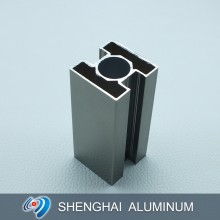 High Quality European Style Matt Anodized Silver Decoration Aluminum Profile