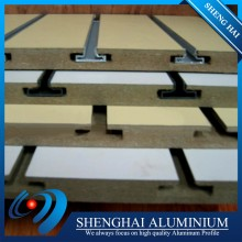 electrophoresis painting aluminum profile for slatwall