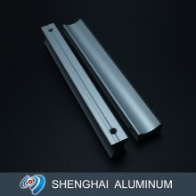 High Quality European Style Matt Anodized Silver CNC Aluminum Handles for Wardrobe and Cabinet
